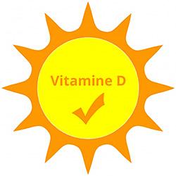 Image du soleil et de la Vitamine D